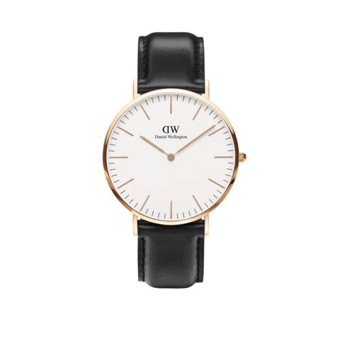 Classic Sheffield Man Watch Rose Gold 40 mm