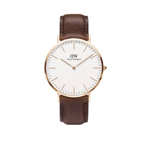 Classic Bristol Man Watch Rose Gold 40 mm