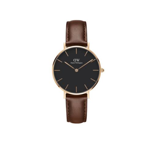 Classic Petite St.Mawes Rose Gold Black32 mm