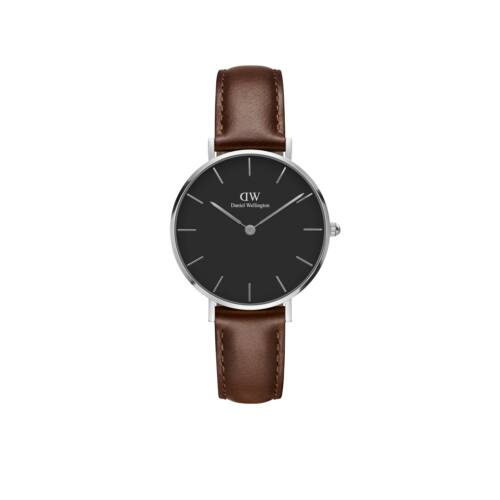 Classic Petite St.Mawes Silver Black 32 mm