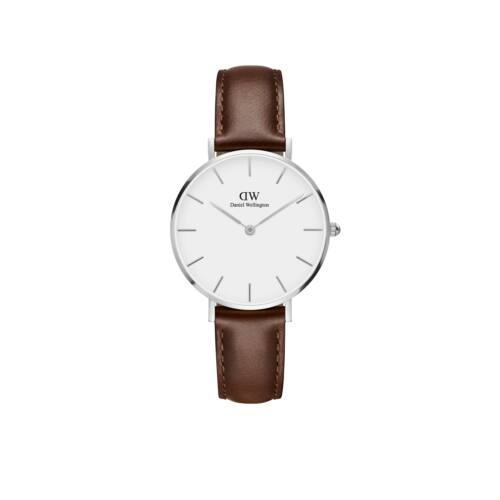 Classic Petite St.Mawes Silver White 32 mm