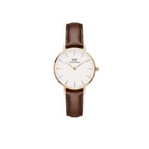Classic Petite St.Mawes Rose Gold White 28 mm