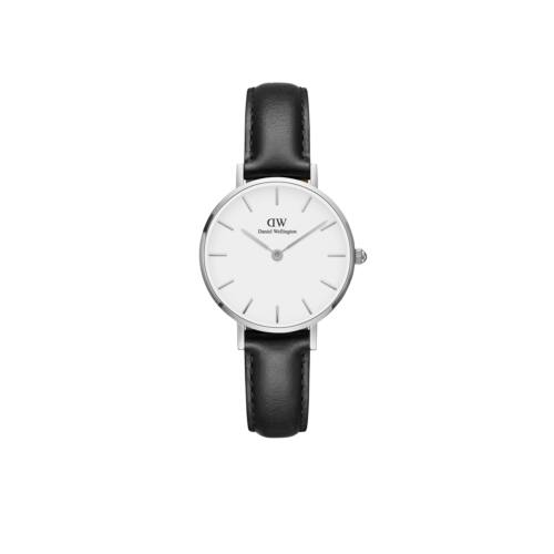 Classic Petite St.Mawes Silver Black 28 mm