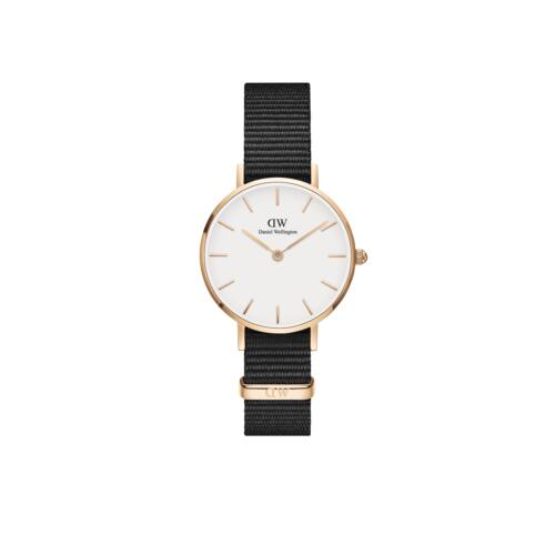Classic Petite Cornwall Rose Gold White 28 mm