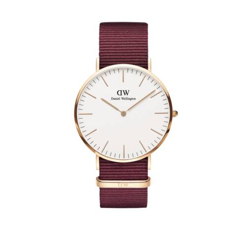 Classic Roselyn Man Watch Rose Gold White 40 mm