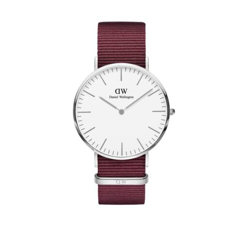 Classic Roselyn Man Watch Silver White 40 mm