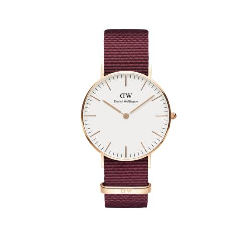 Classic Roselyn Lady Watch Rose Gold White 36 mm