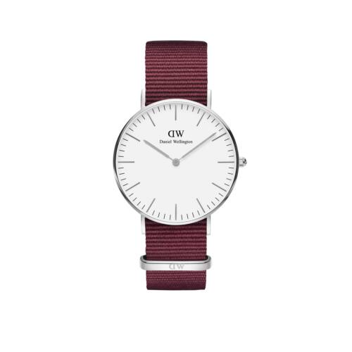 Classic Roselyn Lady Watch Silver White 36 mm