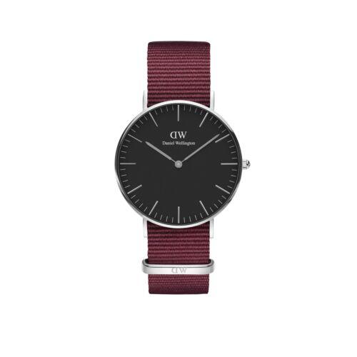 Classic Roselyn Lady Watch Silver Black 36 mm