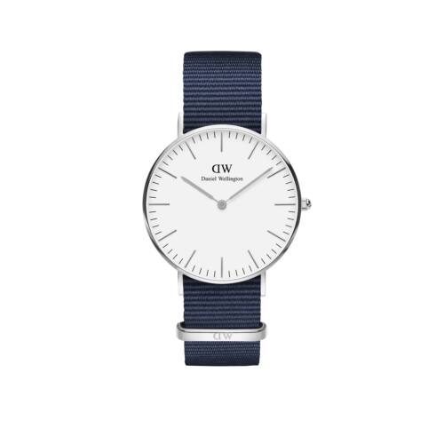Classic Bayswater Lady Watch Silver White 36 mm