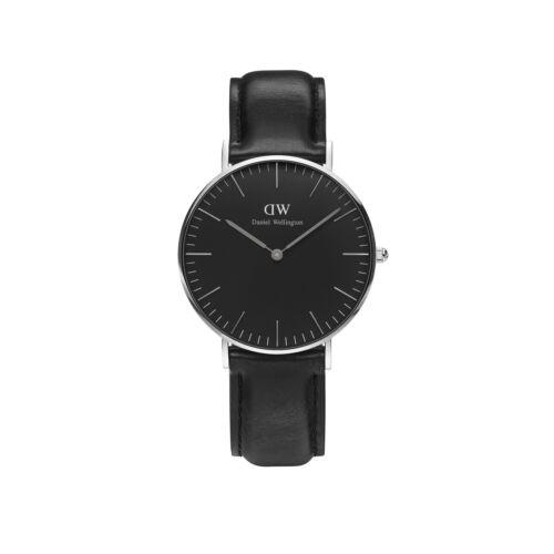 Classic Black Sheffield Lady Watch Silver 36 mm