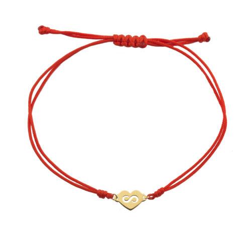Arany karkötő 14 K piros