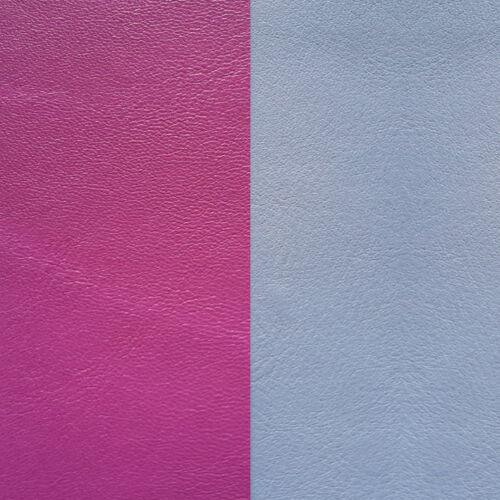 Bougain/Ice blue 14 mm karkötő bőr