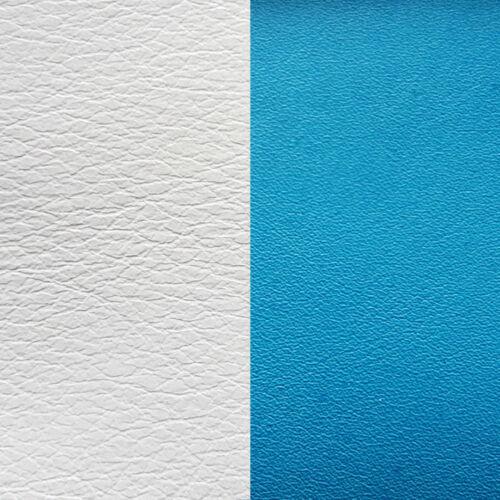 White/Turquoise 14 mm karkötő bőr