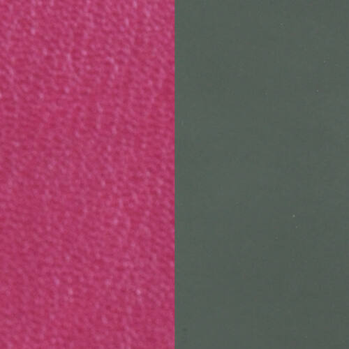 Fuchsia / Soft grey 40 mm karkötő bőr