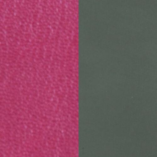 Fuchsia / Kaki 14 mm karkötő bőr
