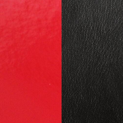 Patent red / Black 25 mm karkötő bőr