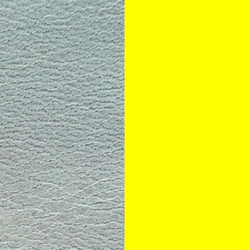 Azure/Dayglo Yellow 40 mm karkötő bőr