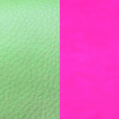 Menthol/Dayglo Pink 40 mm karkötő bőr