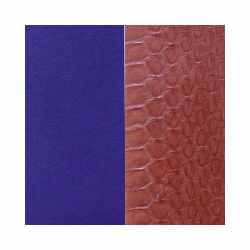 Terracotta/Purple 25 mm karkötő bőr