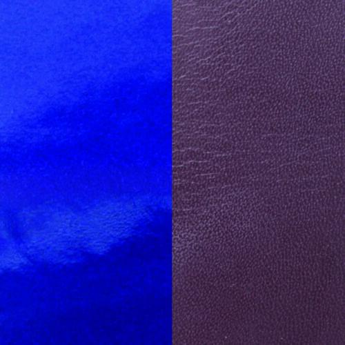 Plum/Patent Blue 40 mm karkötő bőr