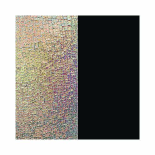 Iridescent/Black 14 mm karkötő bőr