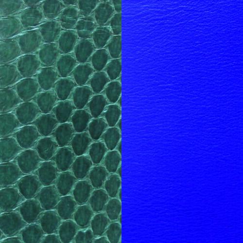 Forest Green/Blue 25 mm karkötő bőr