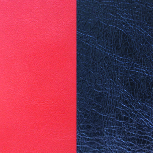 Coral/ Metallic Navy Blue gyűrű bőr 12 m