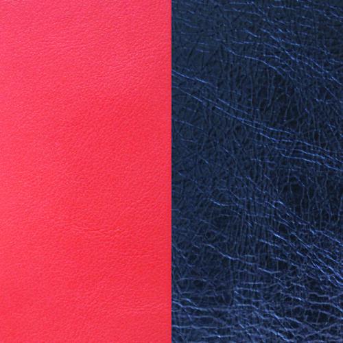 Coral/Metal Blue 40 mm karkötő bőr