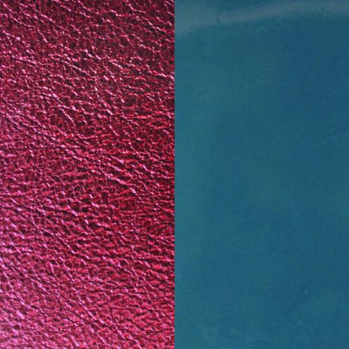 Blue Denim/Burgundy 40 mm karkötő bőr