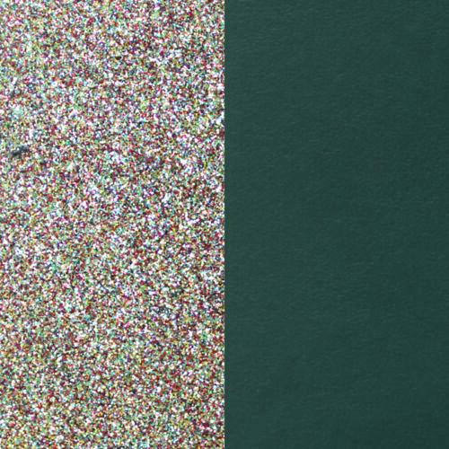 Multicoloured/Teal 14 mm karkötő bőr