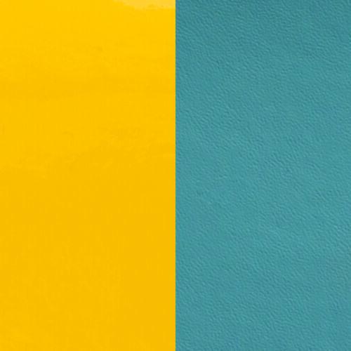 Yellow / Bluestone 8 mm karkötő bőr