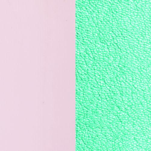 Patent Nude/ Turquoise 8 mm karkötő bőr