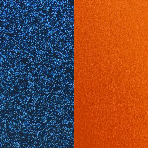 Blue/Apricot bőr 8 mm karkötő bőr