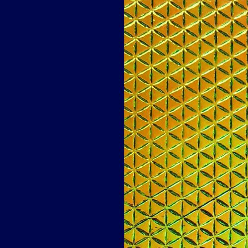 Navy Blue/Green bőr 8 mm karkötő bőr