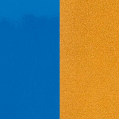 Blue/Mustard karperec bőr 40 mm