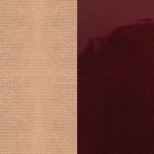 Salmon Pink/Burgundy karkötő bőr 14 mm
