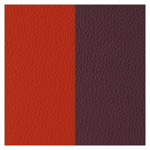 Orange red/Rose brown 25 mm karkötő bőr