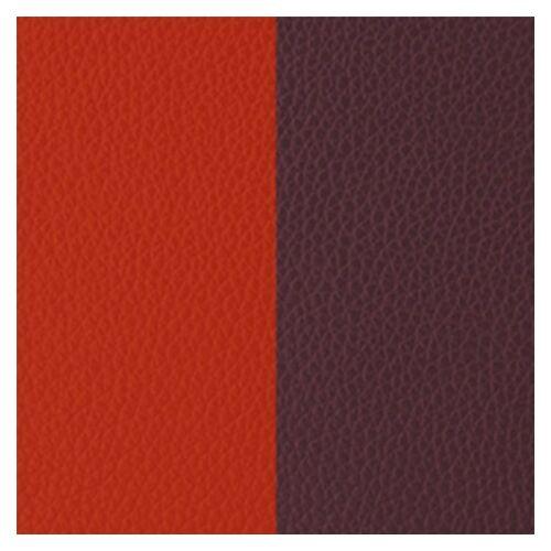 Orange red/Rose brown 40 mm karkötő bőr