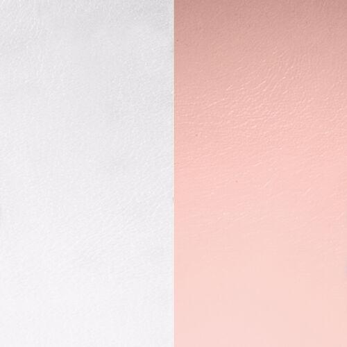 Light pink/Light grey 14 mm karkötő bőr