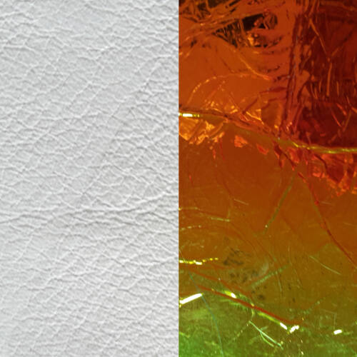 White/ Laser 25 mm karkötő bőr